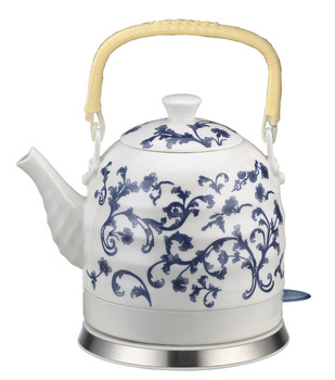 Old Fashioned Ceramic Electric Fast Tea Kettle Water