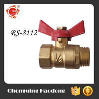 Factory price drawing specification brass body globe valve