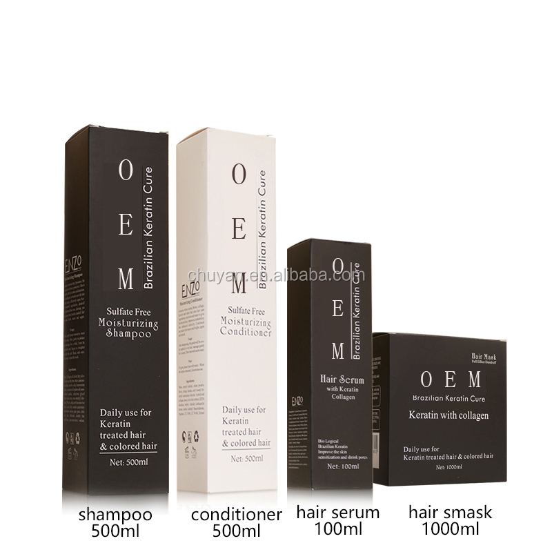 OEM/ODM 500ML Professional nourishing hair shampoo with protein