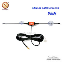 Top Quality maschio Sma Ventosa T Forma 6dBi CB wifi 433 mhz <span class=keywords><strong>antenna</strong></span> patch