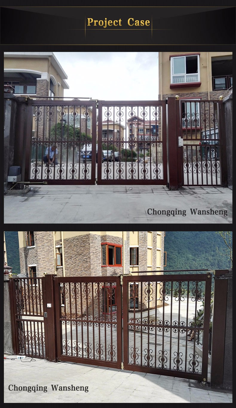 Electric Gate for House Gate Designs suspension door