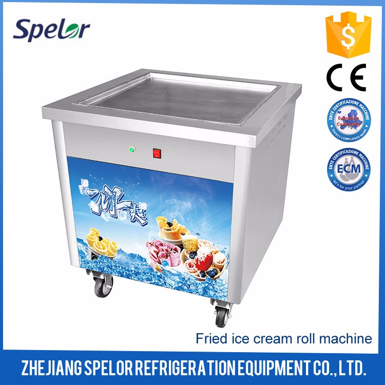 Low-Temperature Commercial Fried Ice Cream Machine Price