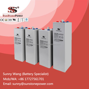 Max Life Lead Acid Solar Power Storage Battery OPzV Batterie 2V 800AH