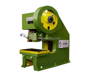j21s 80 ton mechanical record deep throat power press sheet metal hole punching machine