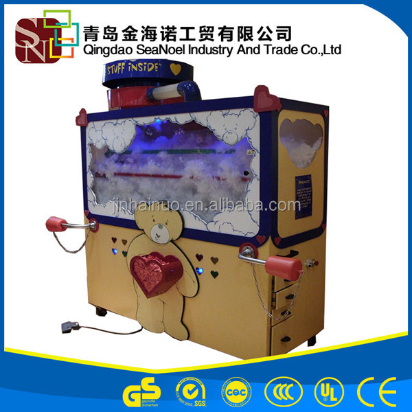 Small Model Ball Doll Cotton Fiber Filling Machine For Toy