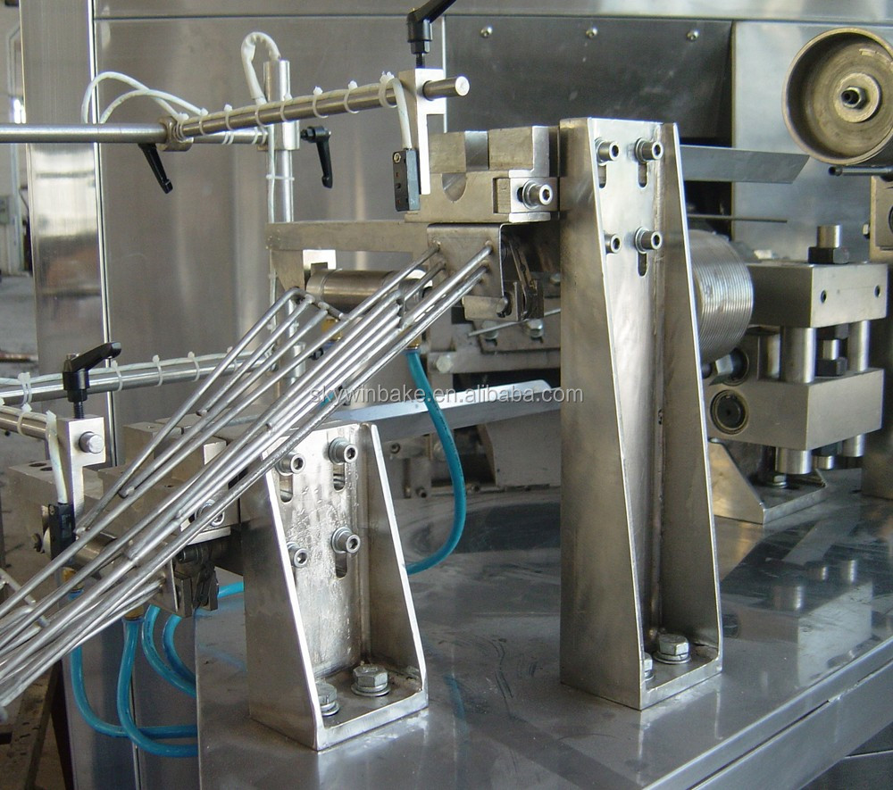 Carbon Steel Rolleri Machine Mexico: Automatic 70kgs Capacity Chocolate/ Cream Filled Wafer