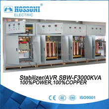 STABILIZER, AC Automatic Voltage Regulator 1600KVA, All copper,