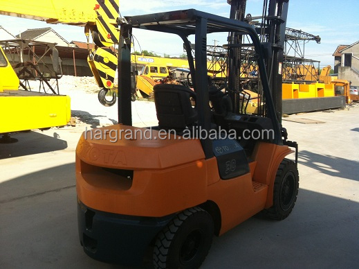 Japan made Toyota 3t forklift used condition Toyota 3t FD30 Forklift for sale