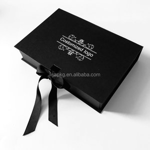 Logo custom matt black hair boxes weave packaging for wigs