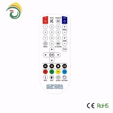 antimicrobial remote for hospital use