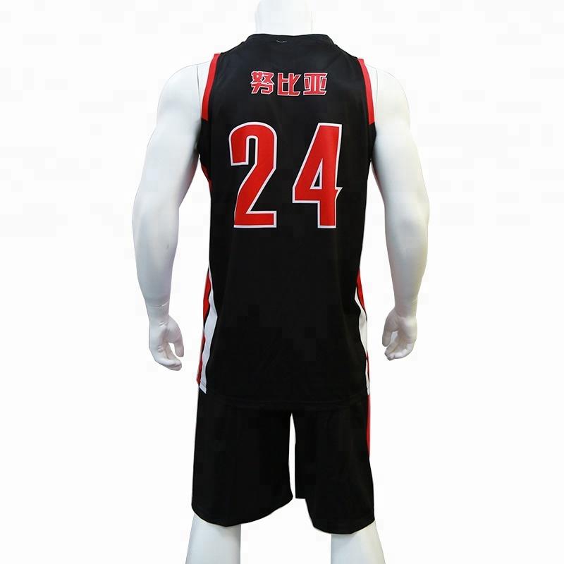 242b1d4cf87 China basketball uniform black wholesale 🇨🇳 - Alibaba