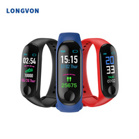 Shenzhen Cheap Bluetooth Smart Wristband Waterproof New Healthy Smart Bracelet with GPS Tracking Heart Rate Unisex