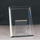 Good quality memorial crystal photo frame picture frame as gift for home or office decoration