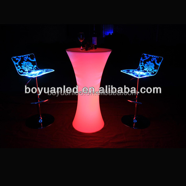 2016 new product LED light bar tables/cocktail table