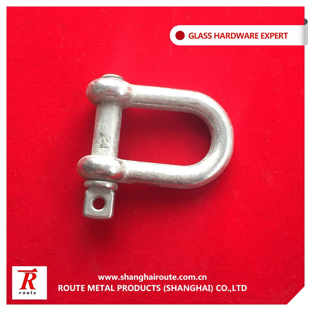 Stainless Steel 304 Adjustable D Shackle For Paracord