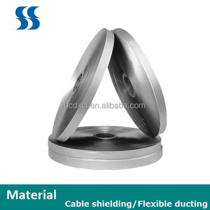 Flexible duct material and cable shielding Aluminum Foil HC001W