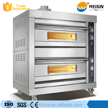 commercial kitchen gas pizza oven bread baking gas convection oven - Commercial Pizza Oven
