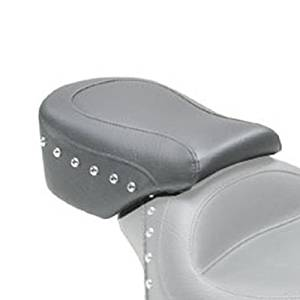 Mustang Studded Rear Seat for Harley Davidson 2004-14 Sportster models