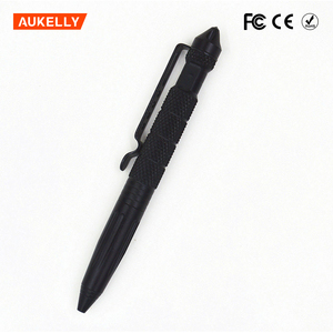 Multifunctional Combat High Quality Aluminum Emergency Glass Breaker Military Tactical self defense pen