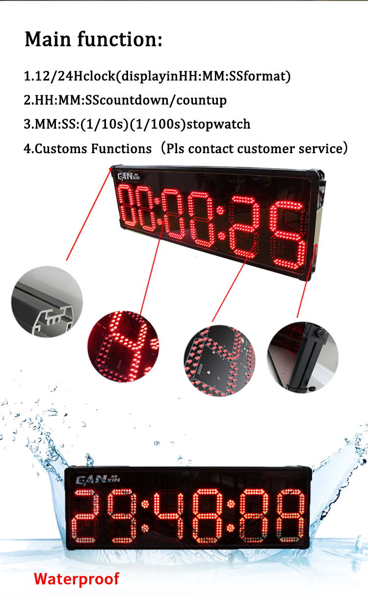 Ganxin outdoor led display screen for marathon race 2019 new launched
