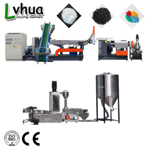 China CE ISO Certificated Widely Used Low Price High Efficiency Plastic Granules Line For PE