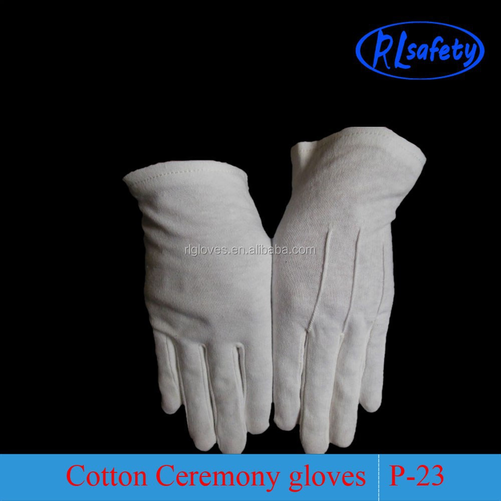 Black usher gloves - Black Usher Gloves 29