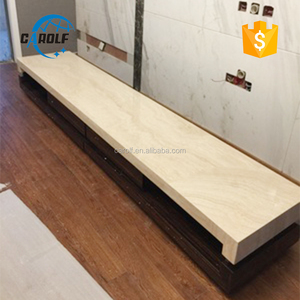 Promotional Marbleand wooden tv cabinet designs