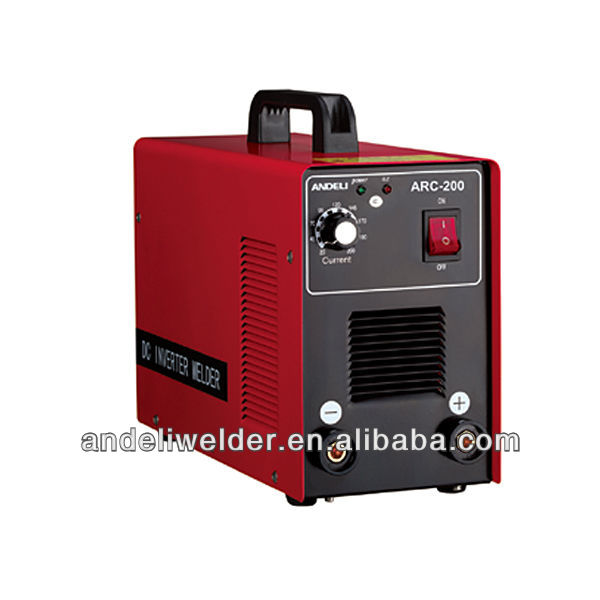 welding equipment inverter electric welding machine mma-200 with CE,CCC (IGBT chip)