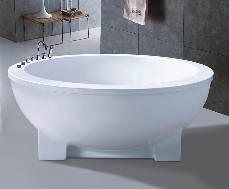 Small Round Freestanding Bathroom Bath Single Person Tub Low Price ...