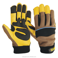 High Quality Leather Safety Drivers Gloves/Mechanics Gloves