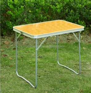 multifunctional removable aluminum side table foldable