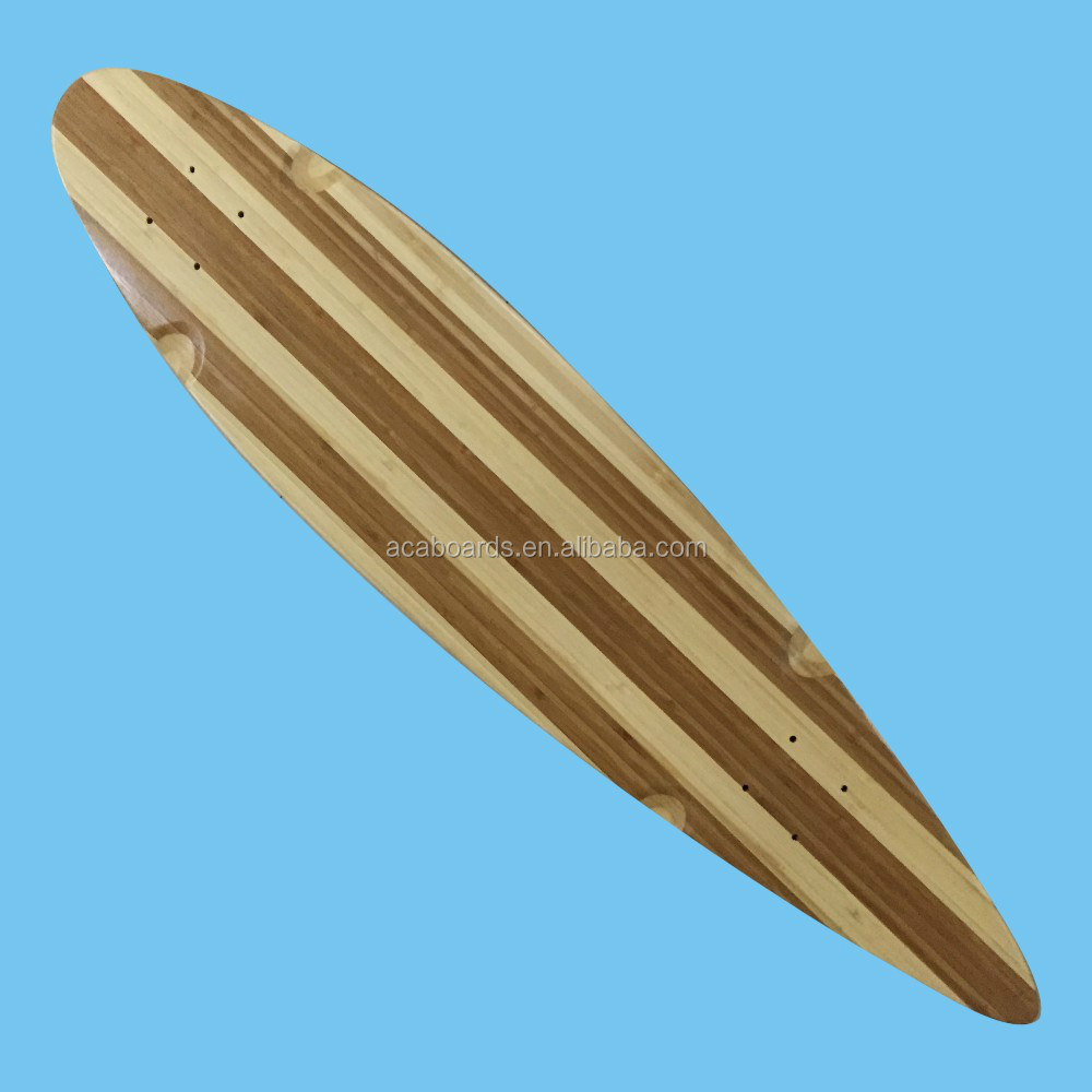High Quality Blank Canadian Maple Longboards Deck