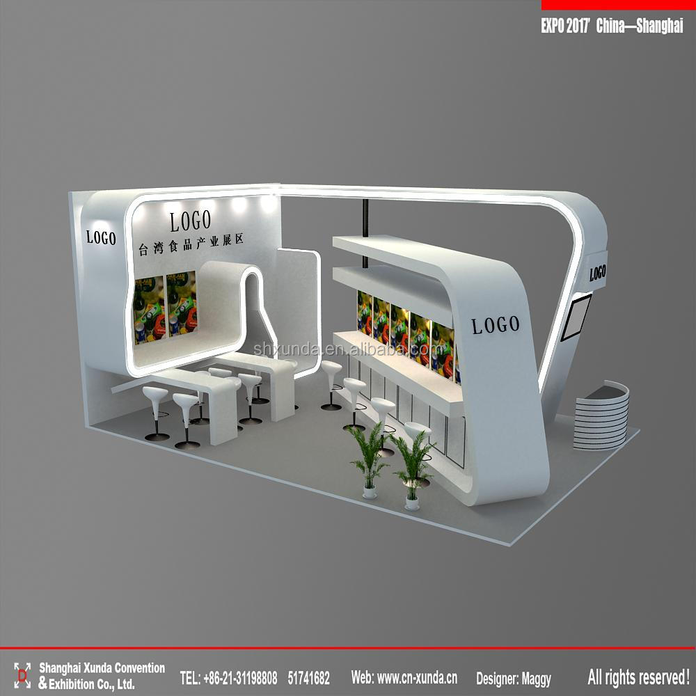 exhibition booth & stands for leisure drinks & food insductry