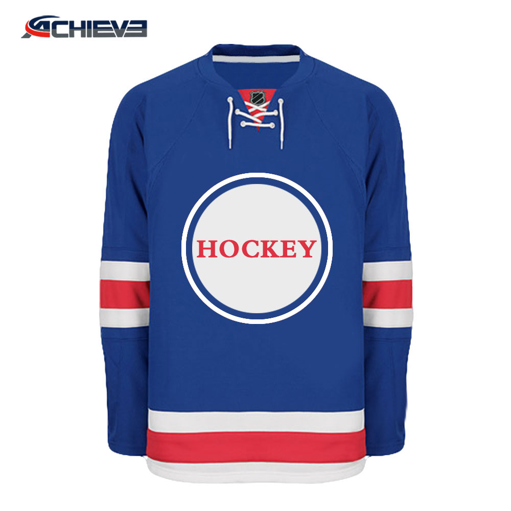 Billige Kunden Goalie Cut Hockey Jerseys Mit Team Logo