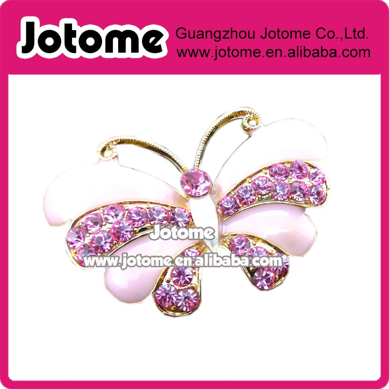 White Christmas Jewelry Crystal Rhinestone Ice Skating Shoes Brooch Pin