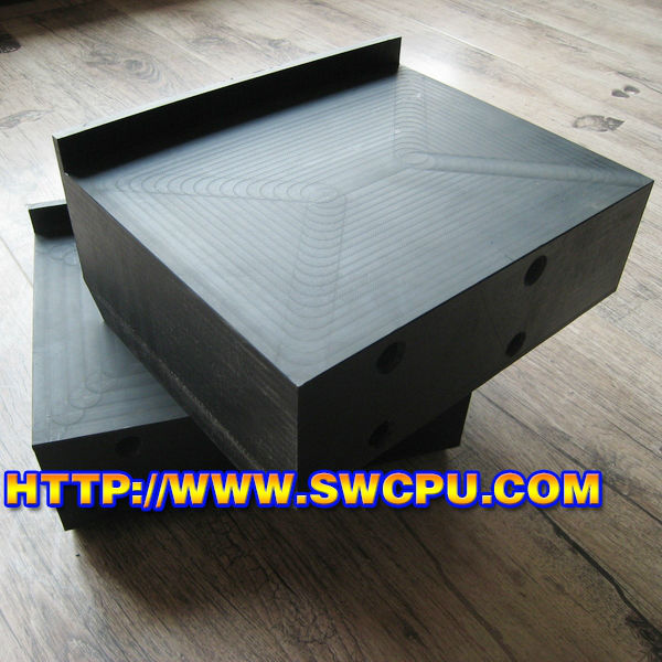 Quality Hard Solid Plastic Spacer Block Black Customized ...