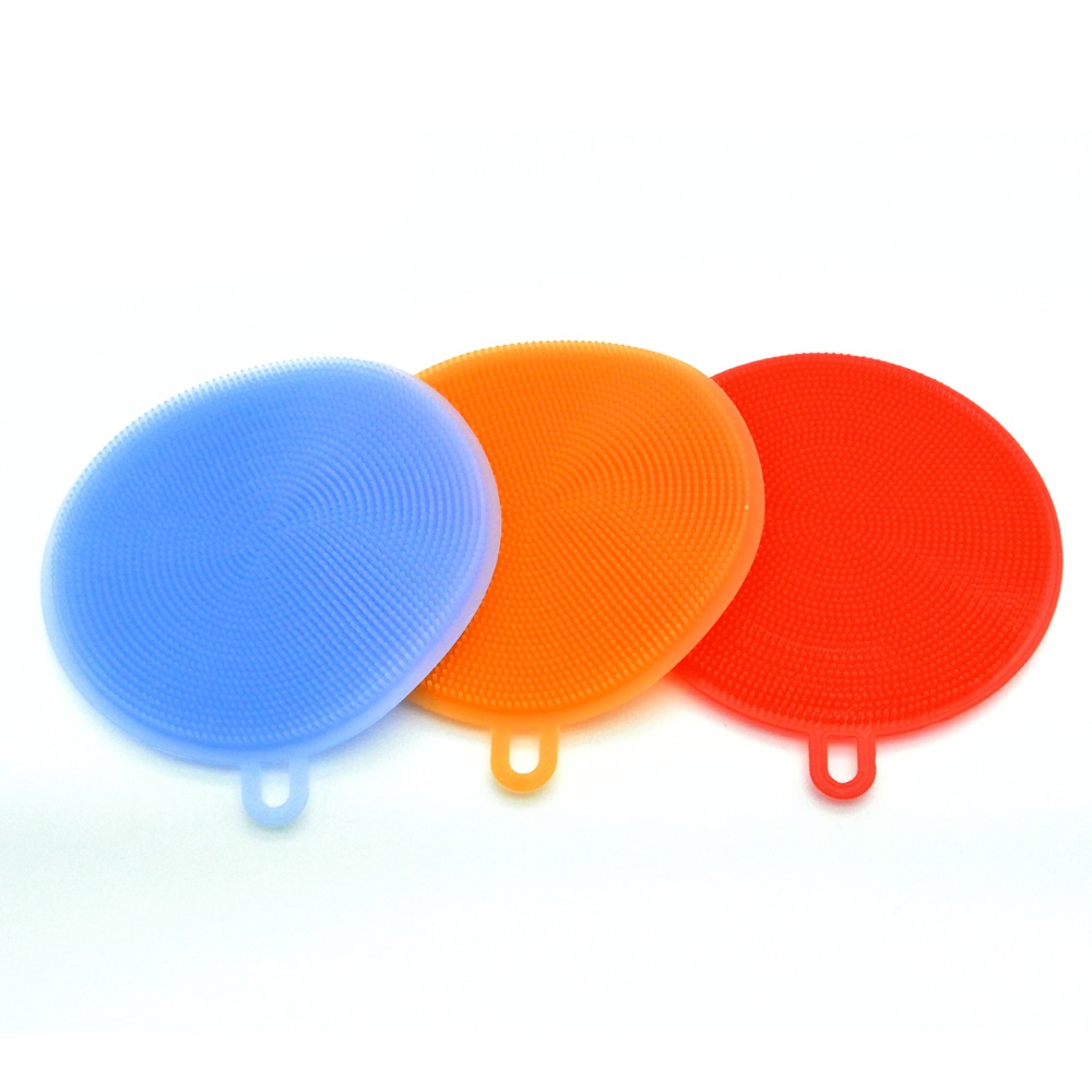 Multipurpose Kitchen Cleaning Tool Silicone Dish Wash Cleaning <strong>Brush</strong>