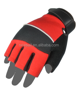 NEWSAIL Ladies Fingerless design hand tools mechanic working gloves