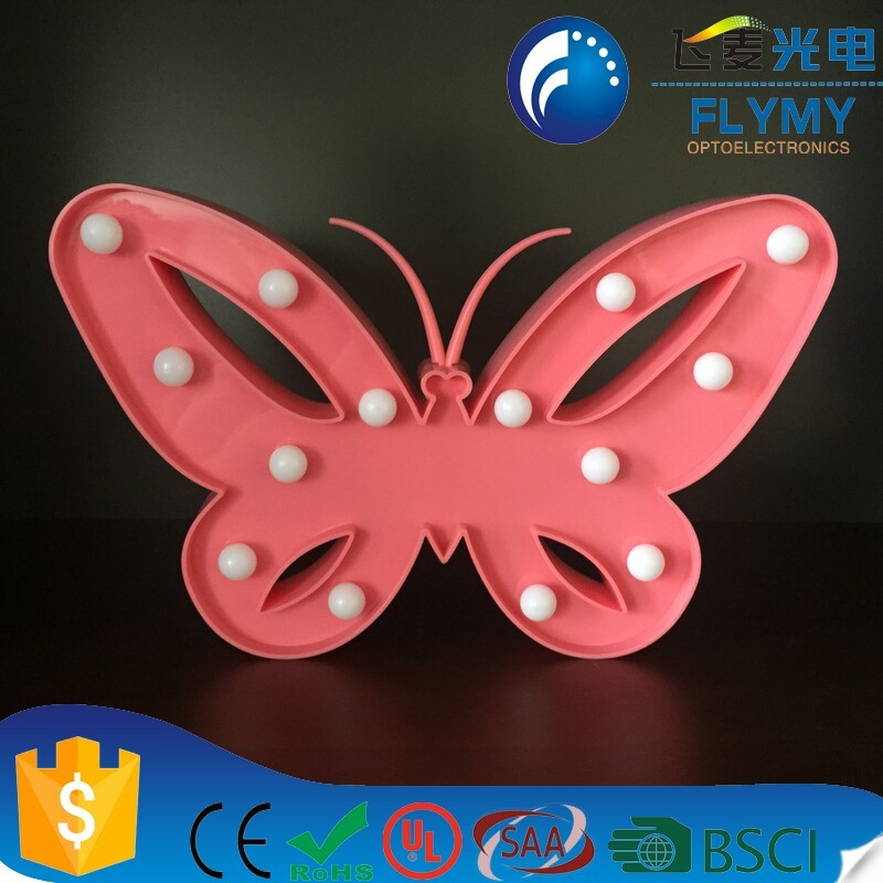 LED Marquee lovely Flamingo Warm Night Light Alibaba Wholesale Battery Operated Wall Hanging night Light Battery Operated