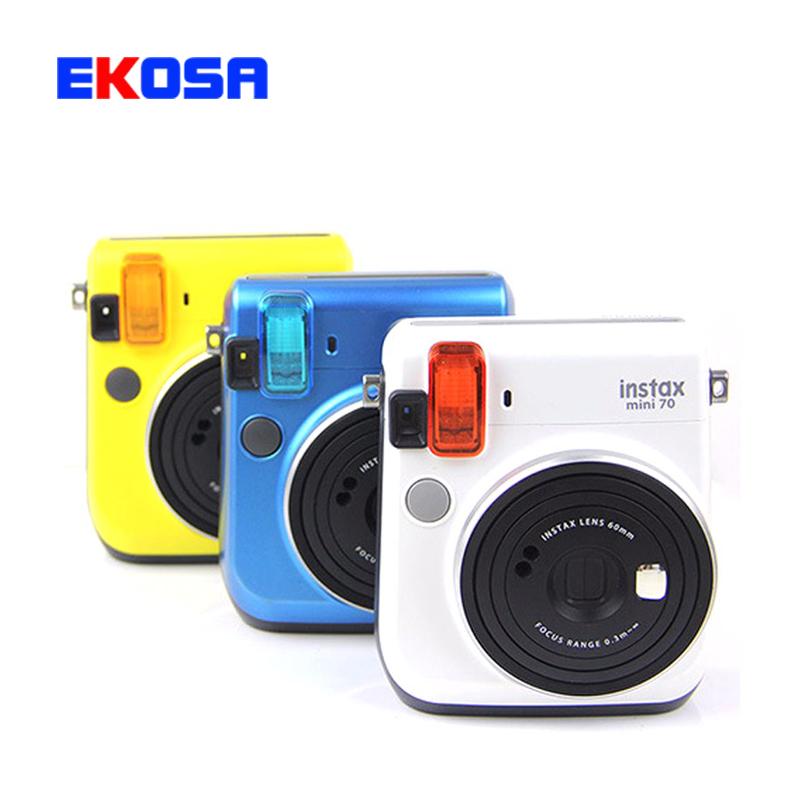 4 в 1 Цветной Фильтр Крупным Планом Объектив Вспышка зеркало Для Fujifilm Instax Mini 70 Instant Пленочный Фотоаппарат 4 цветов Бесплатная доставка