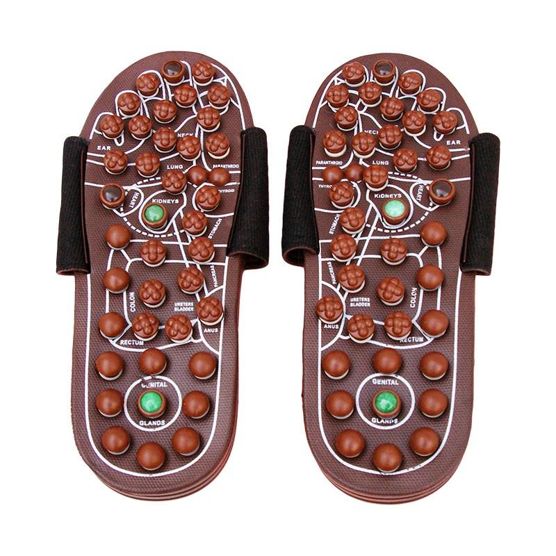 Good Value Spring Magnet Rotatable Kneading Original Manufacturer Foot Massage Acupressure Shoes