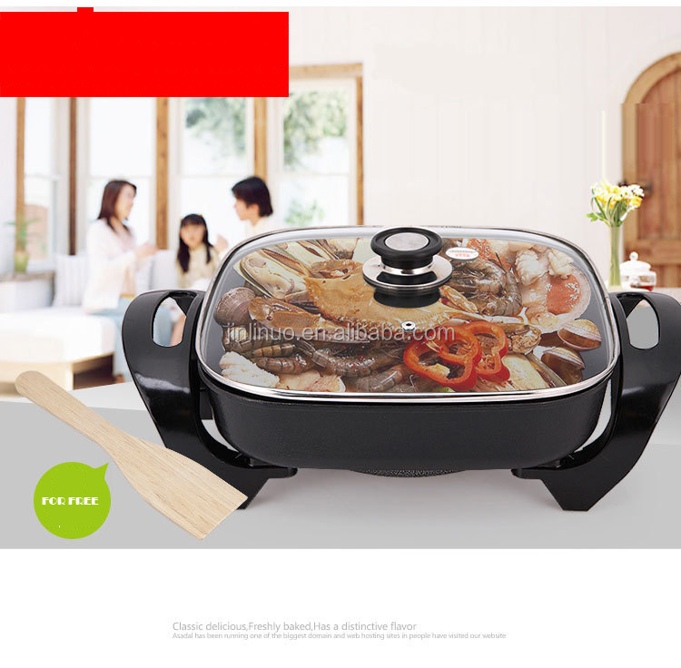 die cast aluminum electric multi cooker and non-stick frying pan