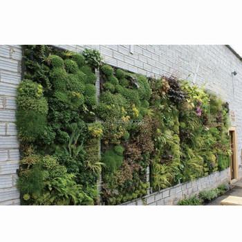 Decoratie Aan De Muur Buiten.Verticale Tuin Kunstmatige Groene Muur Voor Binnen Buiten Decoratie Buy Outdoor Decor Hoge Kwaliteit Verticale Groene Muur Muur Planten Product On