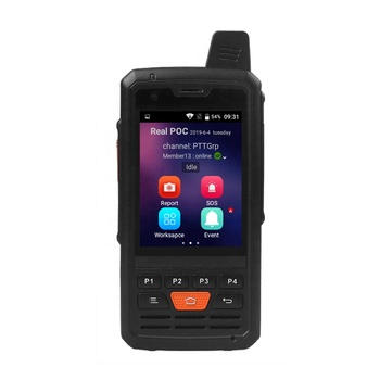 JIMI Zello Nouveau Design Sans Parler Distance Limite PTT 4G carte sim talkie-walkie GPS radio bidirectionnelle