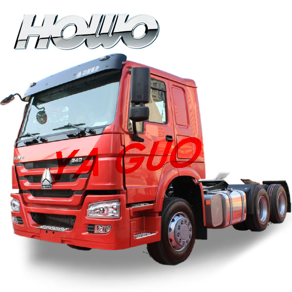 ZZ4257N3247W howo manual tractor truck for Ukraine