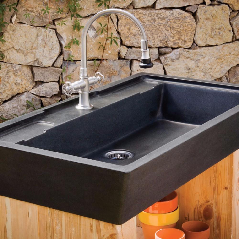 High Quality Natual Granite Wash Basin Outdoor Stone Sink Buy Outdoor Stone Sink Granite Sink