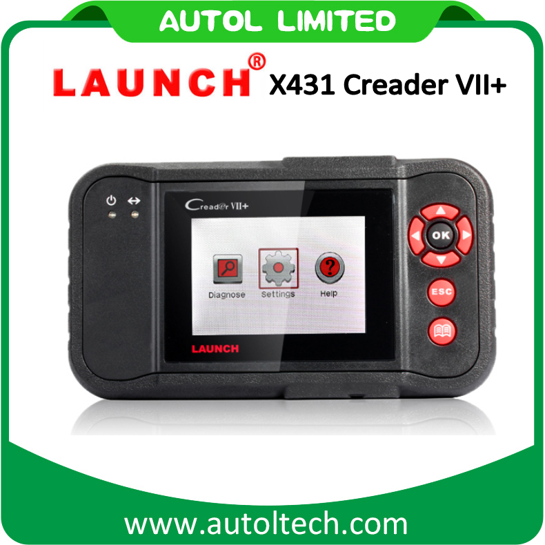 New Launch X431 Creader VII+ 7 Plus Auto CAN Code Reader Diagnostic Tool Scanner Replace of CRP123