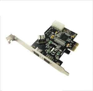 2 Port 1394B Firewire and1 Port 1394A PCI-e 1.0 x 1 Card