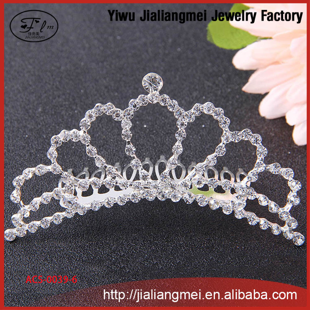 2016 Korean version jewelry good crystal headband hair accessories crown