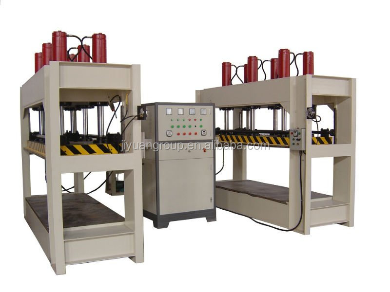 HF press for plywood bending machine
